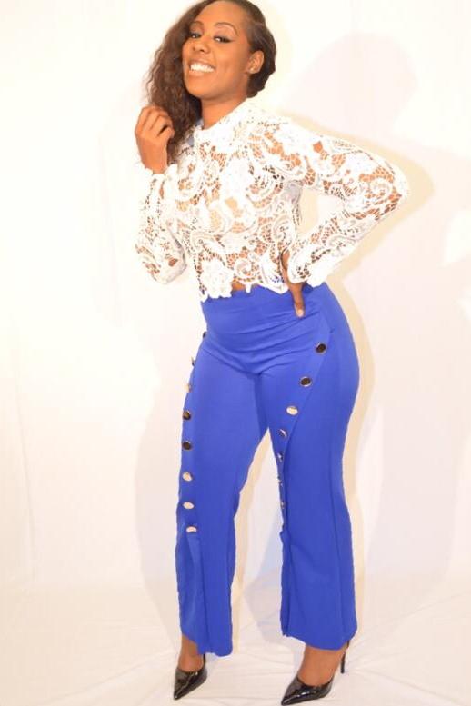 Pants&Lace Top